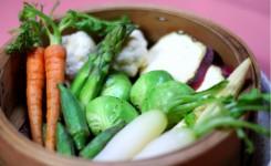 旬野菜のセイロ蒸し2